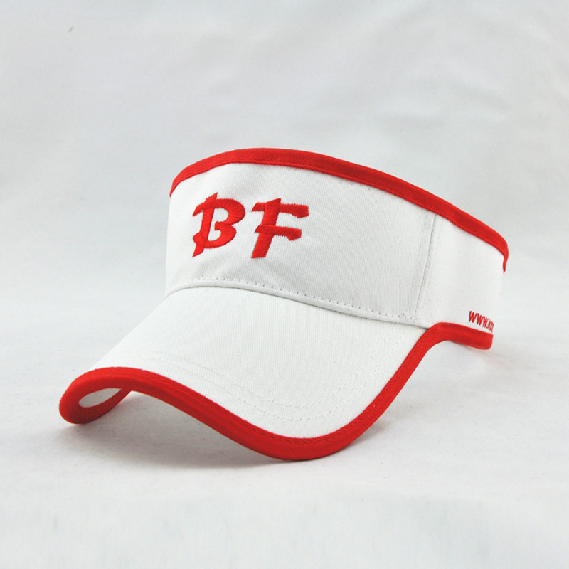 New Custom Sport Sun Visor Cap,cotton Sun Visor Hat