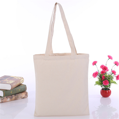 Natural Color Plain Cotton/Canvas Tote Bag