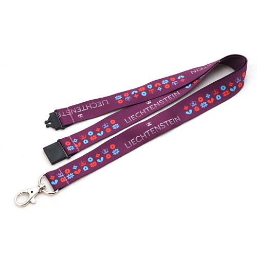 Hot Selling Heat Transfer Lanyard with Metal Hook/plastic Buckle/safety Clip for Phone