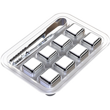 Reusable Stainless Steel Ice Cubes Will Never Leak, Melt, Or Leave Rock Dust in Your Drinks