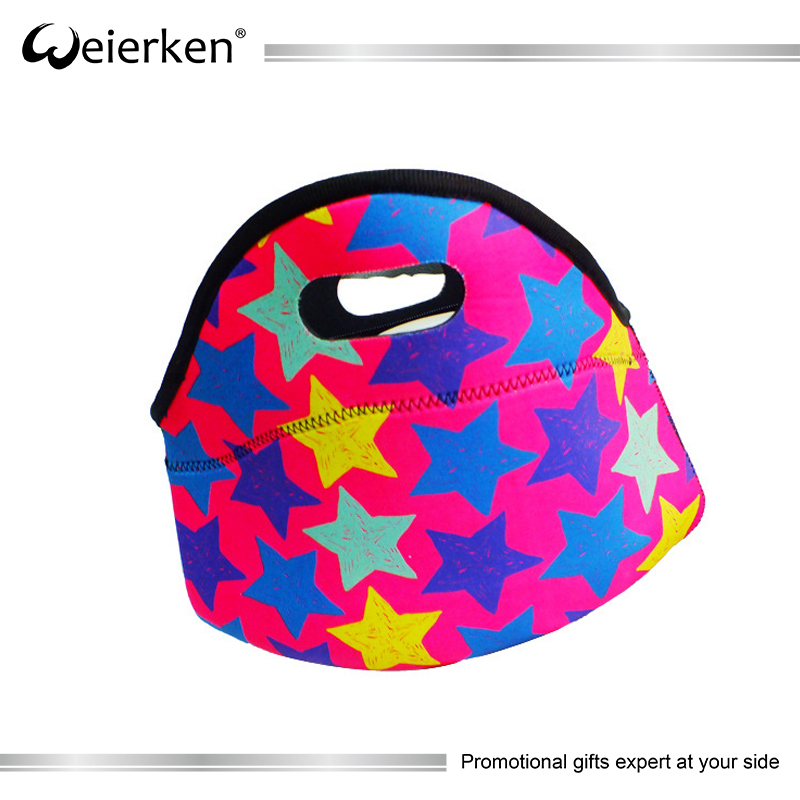Promotional Gift Insulated Neoprene Cooler Bag Inner Cool Lunch Bag