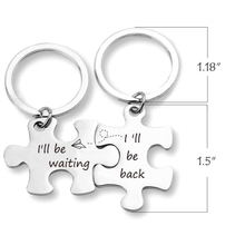 Stainless Steel Keychains Matching Best Friend KeyChain for Boyfriend