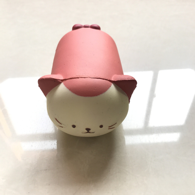 Squishy Cat PU Toy Stress Ball