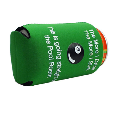 Durable Solid Novelty Cheapest Blank Unsulated Neoprene Can Cooler Wholesale