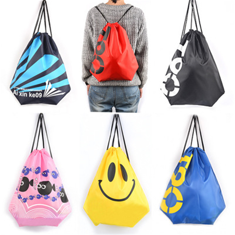 Cheap Price Promotional Bag Drawstring Small Polyester Drawstring Bag