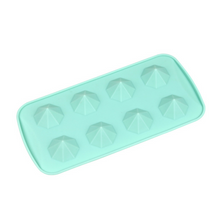 3D Diamonds Silicone Ice Cube Trays, Diamond Shape Ice Cube Tray