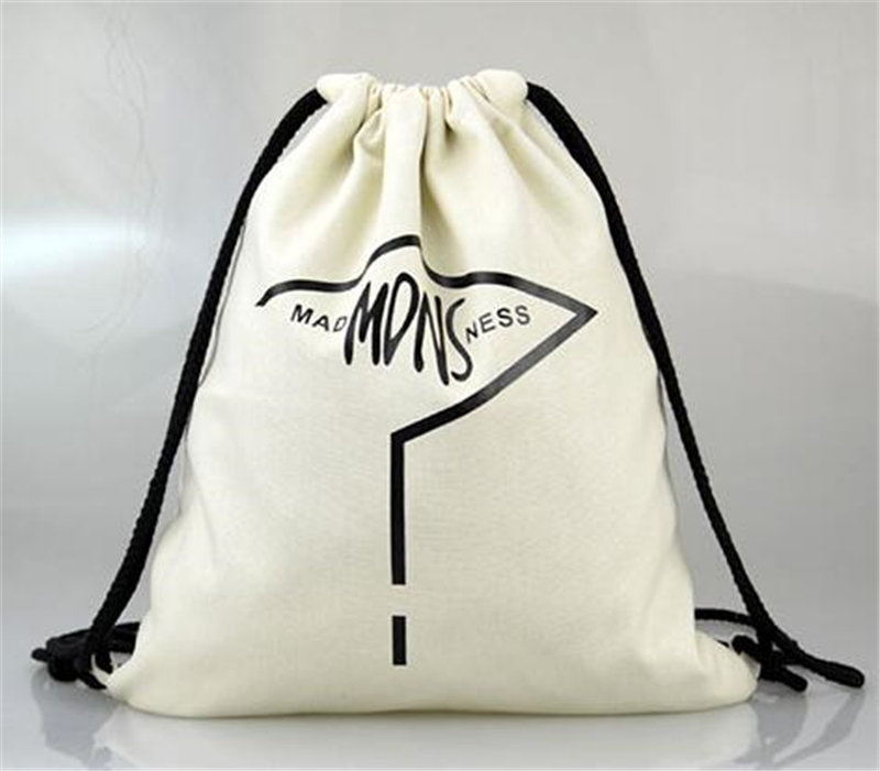 Reusable Natural Cotton/canvas Gift Drawstring Bag, Cotton Gift Drawstring Bag