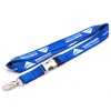 Personalized Silk Screen Printing Polyester Lanyard Custom