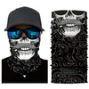 3D Seamless Multifunction Magic Clown Joker Men Skull Ghost Face Mask Headband
